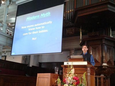 Lezing Harvey Karp georganiseerd door Universiteit van Amsterdam en Tergooi Ziekenhuis