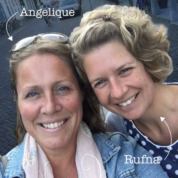 Angelique en Rufna van Baby en Borstvoeding, voor hulp bij reflux, borstvoeding of flesvoeding