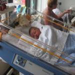 Baby randprematuur, startproblemen, ziekenhuisopname, reflux