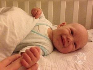 Een slaapcyclus van een baby is korter dan die van een volwassene