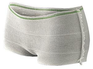 Stretchbroekjes, elastisch en stevig en houden kraamverband op zijn plaats