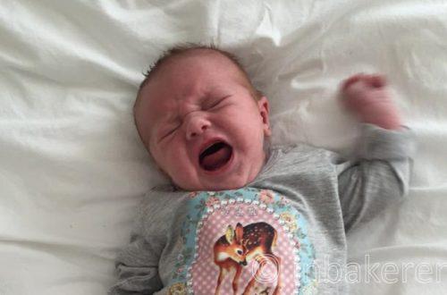 Onrustige baby rust regelmaat