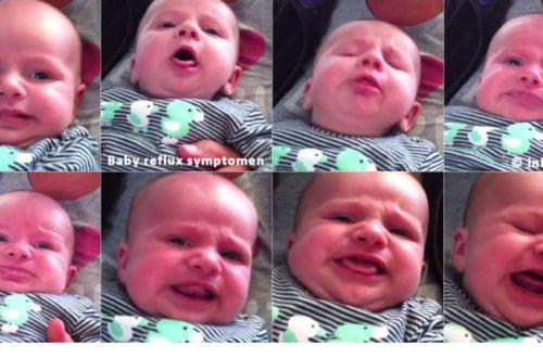 Baby reflux symptomen
