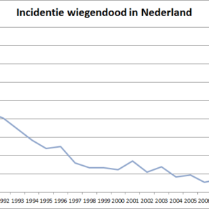 Hoe vaak komt wiegendood voor in Nederland? Cijfers 1987 - 2012