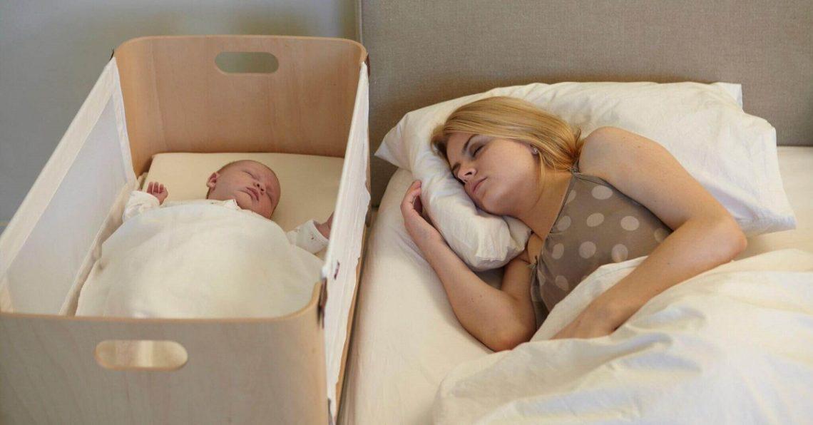 Co-sleeping goed voor baby en moeder